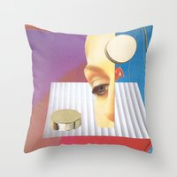 Reality Features Throw Pillow