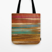 wood panel multicolor Tote Bag