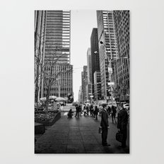 Strictly Business. Canvas Print