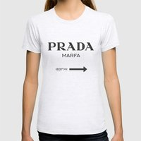 Marfa Womens Fitted Tee Ash Grey SMALL