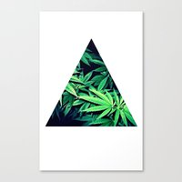 Smoke Weed Canvas Print