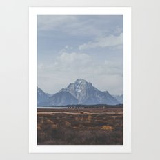 Wyoming XXX Art Print