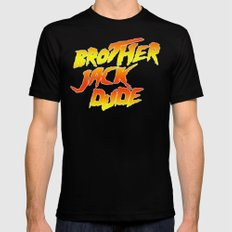 Brother Jack Dude Mens Fitted Tee SMALL Black