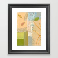 Small Calm Place Framed Art Print