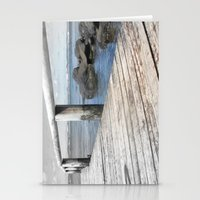 Jetty At Bridgewater Stationery Cards