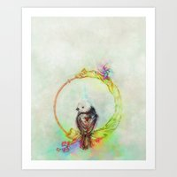 Ride The Cycle Art Print