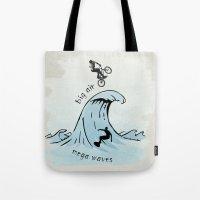 big air, mega waves Tote Bag