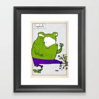CRAPHULK - FAN ART AVENG… Framed Art Print