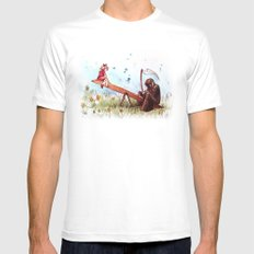 death's playground Mens Fitted Tee White SMALL