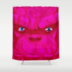 Post-it Portrait: Ben Grimm Shower Curtain
