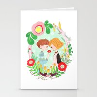Happy Valentine's Day Stationery Cards