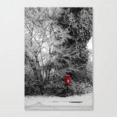 {Christmas Post} Canvas Print