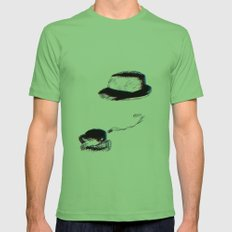Invisible Mens Fitted Tee Grass SMALL