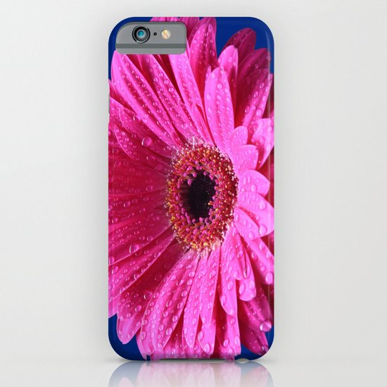 Pink Gerbera Abstract iPhone & iPod Case