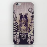 The Queen Of My Heart iPhone & iPod Skin
