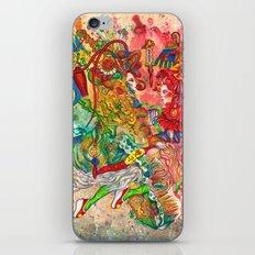 Gemini, The Wonderful Twins: May 22 - Jun 21 / ORIGINAL GOUACHE iPhone & iPod Skin