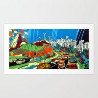 Sugarloaf Art Print