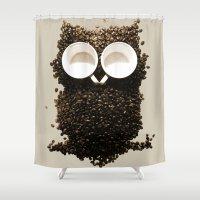 Hoot! Night Owl! Shower Curtain