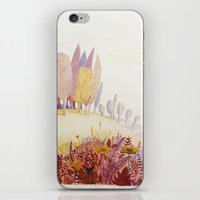 Over the hills iPhone & iPod Skin