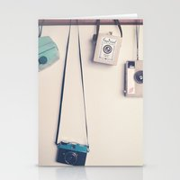 Hanging Cameras II Stationery Cards