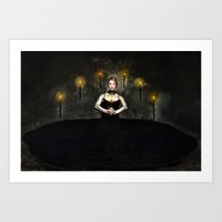 Ceremony Art Print