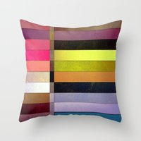 colorsplit Throw Pillow