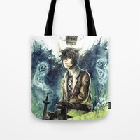 Nico Di Angelo - Son Of Hades Tote Bag