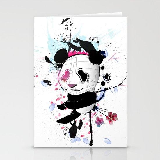 PANDA Stationery Card