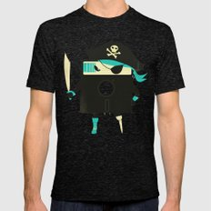 Software Pirate Mens Fitted Tee Tri-Black SMALL