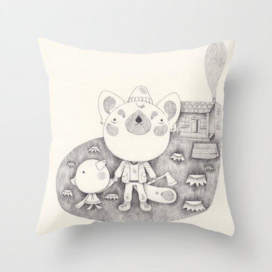 le cabanon Throw Pillow