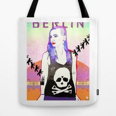 Welcome To BERLIN ||| Willkommen in Berlin Tote Bag