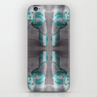 Ballet Shoe Blue Reflect… iPhone & iPod Skin
