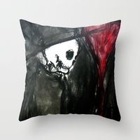 Dark Romantic Throw Pillow