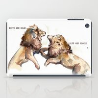 Dress fight - Blue or white? iPad Case