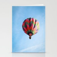 Lighter Than Air - Balloon  Stationery Cards