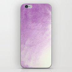 purple watercolor iPhone & iPod Skin