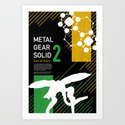 Metal Gear Solid 2: Sons of Liberty Art Print