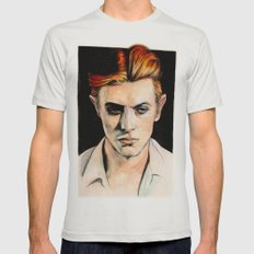 Thin White Duke Mens Fitted Tee Silver SMALL