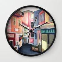 Villas Wall Clock