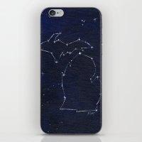 Mitten State Constellation iPhone & iPod Skin