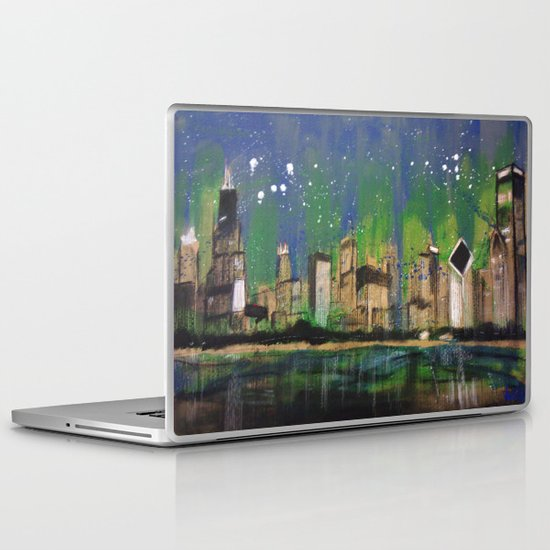 Chicago Night Laptop & iPad Skin