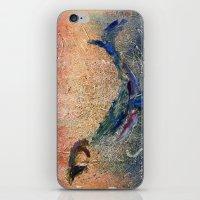 Humpback Whale and Calf iPhone & iPod Skin