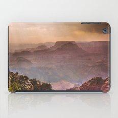 Grand Canyon Rainfall - South Rim iPad Case