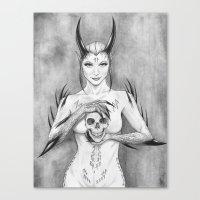 Dangrrr Canvas Print