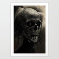 Mortis Art Print