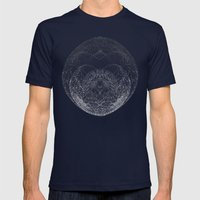 Sphere Tree Mens Fitted Tee Navy SMALL