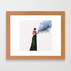 SPARKLESS Framed Art Print