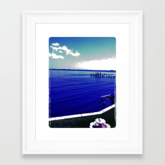 Verano Fresco Framed Art Print