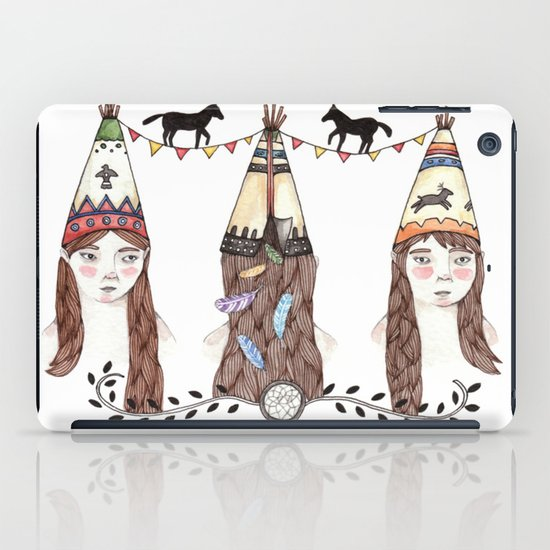 Tipi Party iPad Case