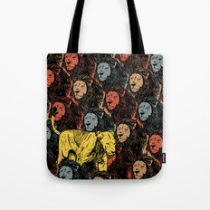 Busting the myths of feminism Tote Bag